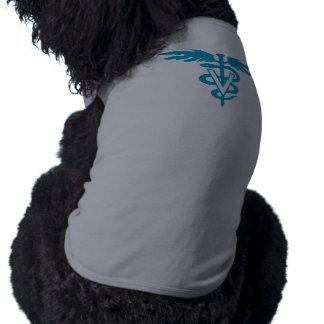 Tecnología del veterinario - símbolo veterinario camisetas mascota