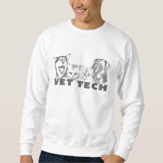 Tecnología del veterinario sudadera