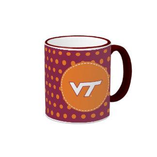 Tecnología del VT Virginia Taza De Dos Colores