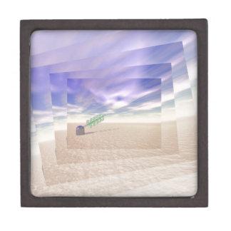 Tecnología láser verde caja de regalo de calidad