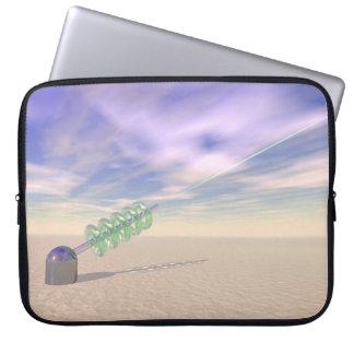 Tecnología láser verde fundas ordendadores