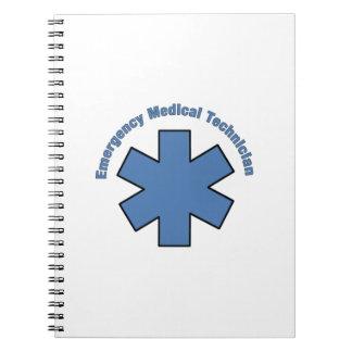 Tecnología médica de la emergencia libretas