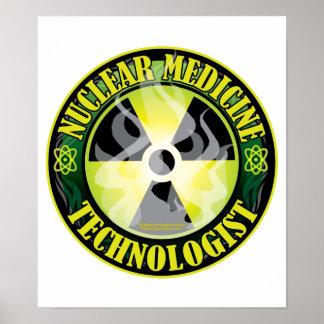 Tecnología nuclear 2 de la medicina póster