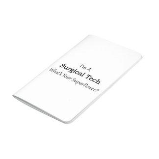 Tecnología quirúrgica cuaderno grapado