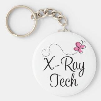 Tecnología rosada linda de la radiografía de la ma llavero redondo tipo pin