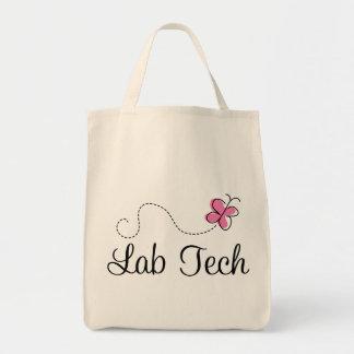 Tecnología rosada linda del laboratorio de la mari bolsa tela para la compra
