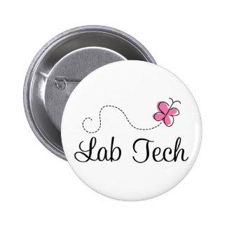 Tecnología rosada linda del laboratorio de la pin redondo de 2 pulgadas