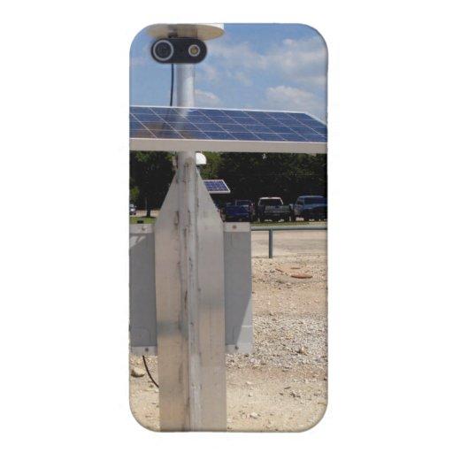 Tecnología solar iPhone 5 protector