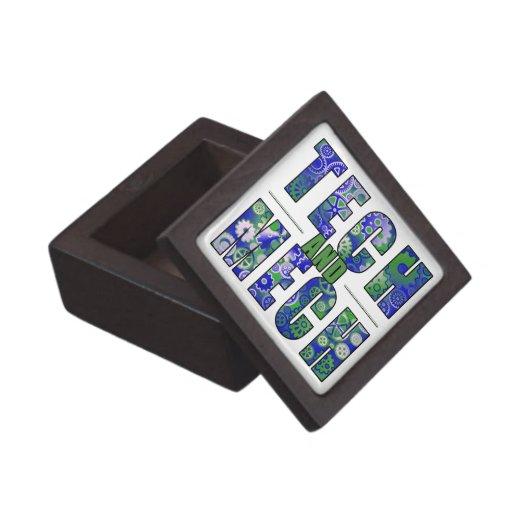 Tecnología y Mech azules Cajas De Joyas De Calidad