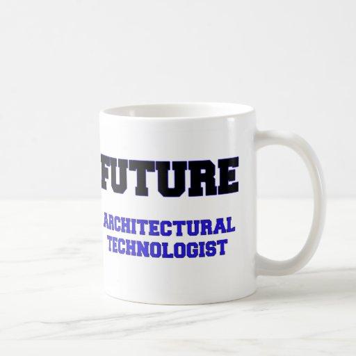 Tecnólogo arquitectónico futuro taza básica blanca