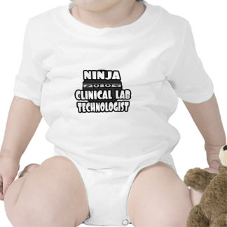 Tecnólogo clínico del laboratorio de Ninja Traje De Bebé