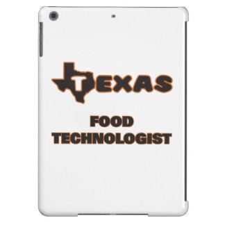 Tecnólogo de la comida de Tejas Funda Para iPad Air