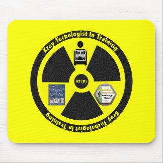 Tecnólogo de la radiología en regalos del tapetes de ratón