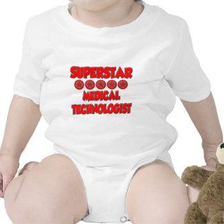 Tecnólogo médico de la superestrella trajes de bebé