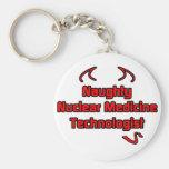 Tecnólogo nuclear travieso de la medicina llavero