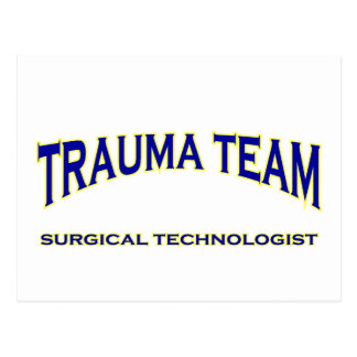 Tecnólogo quirúrgico - equipo del trauma (marina postales