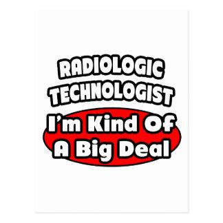 Tecnólogo radiológico. Gran cosa Tarjetas Postales