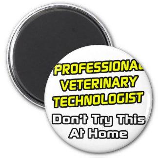 Tecnólogo veterinario profesional. Chiste Iman
