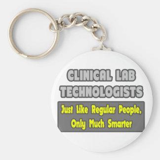 Tecnólogos clínicos del laboratorio. Más elegante Llaveros Personalizados