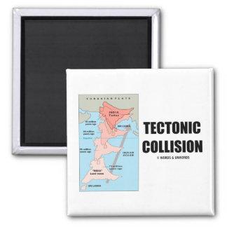 Tectonic Collision (Himalayas) Refrigerator Magnets