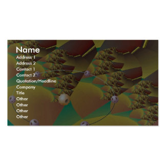 Tectonic movement Orbit Double-Sided Standard Business Cards (Pack Of 100)
