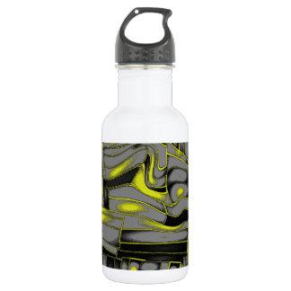Tectonic Plates No. 1 Design 18oz Water Bottle