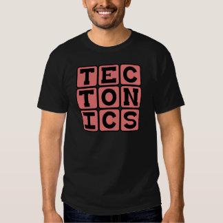 Tectónica, concepto geológico remera