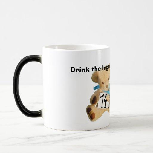 ted2 corrigen, beben la bebida de las leyendas taza de café