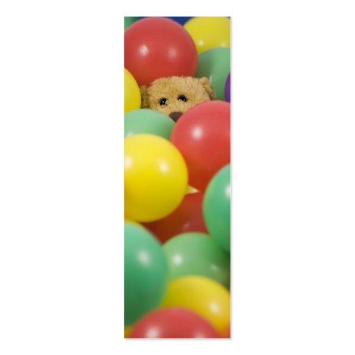 ¡Ted abrumó en la piscina de la bola otra vez! - Tarjetas De Visita Mini