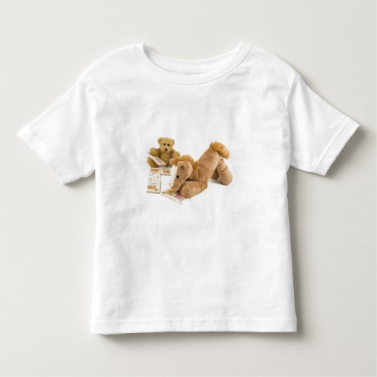 Ted and Horse domino game Toddler T-shirt