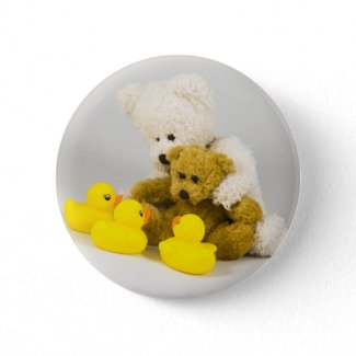 Ted and the Ducks ... Badge button