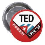 Ted Cruz 2016 3 Inch Round Button