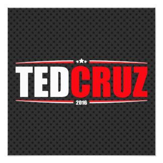 Ted Cruz 2016 (estrellas y rayas - negro) Foto