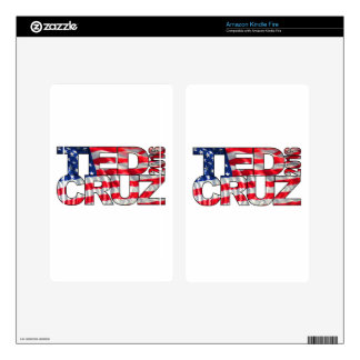 Ted Cruz 2016 (flag) Decals For Kindle Fire