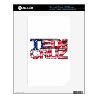 Ted Cruz 2016 (flag) Decal For NOOK Color