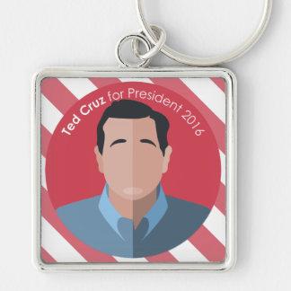 Ted Cruz 2016 for president custom key chain