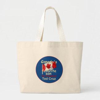 Ted CRUZ 2016 Large Tote Bag