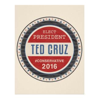 Ted Cruz 2016 Plantilla De Membrete