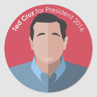 Ted Cruz 2016 para el pegatina del personalizado