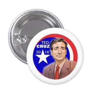 Ted Cruz 2016 Pin Redondo 2,5 Cm