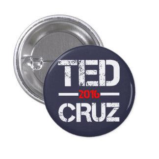 Ted Cruz 2016 Pin Redondo De 1 Pulgada