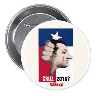 ¿Ted Cruz 2016? Pin Redondo De 3 Pulgadas