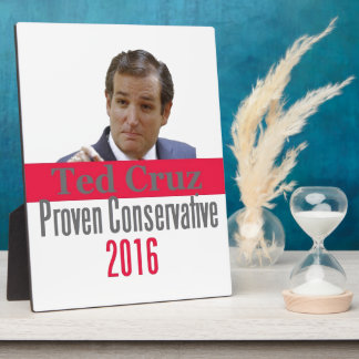 Ted CRUZ 2016 Plaque