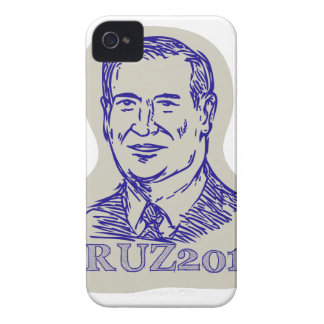 Ted Cruz 2016 President Drawing Case-Mate iPhone 4 Case
