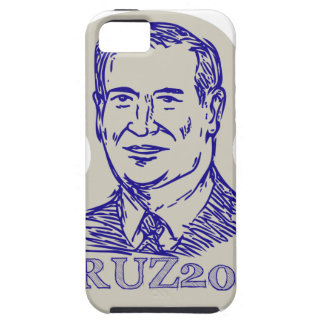Ted Cruz 2016 President Drawing iPhone SE/5/5s Case