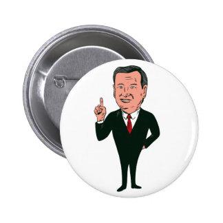 Ted Cruz 2016 Republican Candidate Button