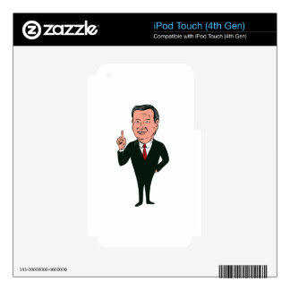 Ted Cruz 2016 Republican Candidate Decal For iPod Touch 4G