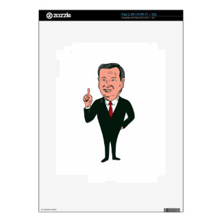 Ted Cruz 2016 Republican Candidate iPad 2 Decal