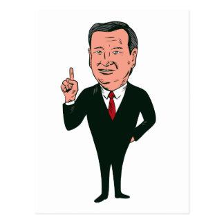 Ted Cruz 2016 Republican Candidate Postcard