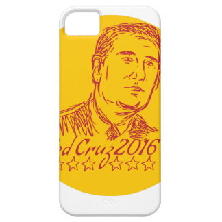Ted Cruz 2016 Republican Drawing iPhone SE/5/5s Case